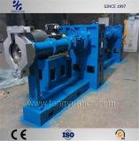 La banda de rodadura de la extrusora y fría máquina extrusora de alimentación de la banda de rodadura