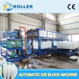 Block-Eis-Maschinen-sauberes Block-Eis 20 Tonnen-/Tag automatisches für den menschlichen Verbrauch einfach zu benützen