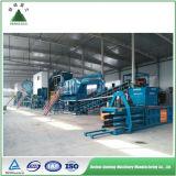 Disposition industrielle mobile de détritus dans la gestion des déchets