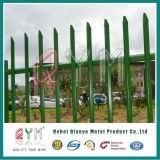 Гальванизированная загородка Palisade стальной загородки стальная для фабрики украшения сада