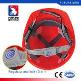 Linha capacete da alta qualidade V do ANSI Z89.1 do Ce de segurança do ABS para o funcionamento da indústria da construção civil