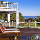 Decking del composto del nero della scanalatura di 150X25mm WPC