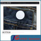 Jeans Vintage Slim reta para homens (JC3396)