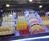 Carrinho de sorvete /Sorvetes Showcase/gelados italianos vitrina com 14bandejas