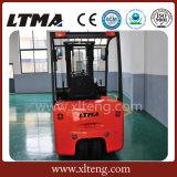 Carretilla elevadora de la batería eléctrica de la tonelada 3-Wheels de la corriente ALTERNA 1.5 de Ltma