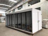 As portas de vidro montada do Sistema Remoto Freezer / armário de Exibição do Chiller/ Sala Fria de Carga Traseira