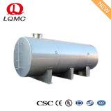 Serbatoio orizzontale personalizzato fornitore principale dell'acciaio inossidabile