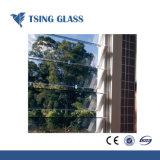 4-6mm freier bereifter blauer grünes Glas-Bronzeluftschlitz