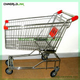 便利な金属のスーパーマーケットのカートのショッピングトロリー
