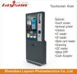 、ビルの支払対話型、情報デジタル表記の表示、LCDのモニタのタッチ画面のキオスクを広告する55インチの自己サービス切符の自動販売機