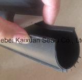 Porta de garagem Tira de revestimento de PVC / Tira de acabamento da borda da porta deslizante
