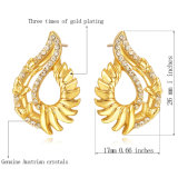 Gli orecchini di cristallo della collana dell'Austria comerciano l'insieme all'ingrosso classico dei monili di modo africano