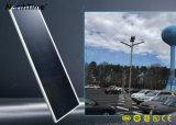 90watt LED를 가진 한세트 태양 가로등은 Bridgelux를 잘게 썬다
