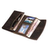 Бумажник карточки портмона высокого качества RFID низкой цены фабрики Китая кожаный