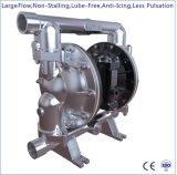 """1-1/2 """" grande pompa a diaframma pneumatica dell'acciaio inossidabile di flusso doppia"""