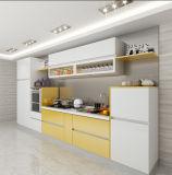 Cabinas de cocina de madera modernas lustre caliente de la venta del alto
