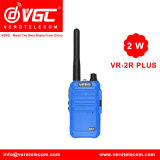 2W UHF Pocket Radio de Dos Vías 16CH Azul Walkie Talkie