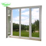 Revêtement en poudre de couleur blanche et tourner la fenêtre d'inclinaison en aluminium