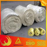 Wärmeisolierung-Material-feuerfeste Steinwolle-Zudecke für Rohr