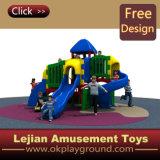 Nouvelle conception des blocs de construction d'enfants de l'équipement de terrain de jeux de plein air de style (X1511-6)