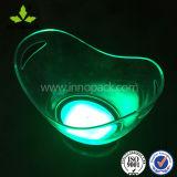 8L PS / acrílico LED Ice Bucket com Multi Color para Cerveja / Wine Party Use