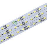 Intense bande rigide Non-Imperméable à l'eau du luminosité SMD5637/5730 DEL de 72LEDs/M avec du ce, RoHS
