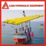 Nostandard cilindro del émbolo hidráulico con vástago de acero forjado