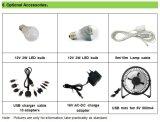 Sistema domestico solare con il mini ventilatore