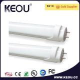 Bianco freddo indicatore luminoso rotondo/quadrato 9W 600mm di 6000k del LED del tubo
