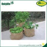 3 poches tissu PE Ecofriendly Fruits & Légumes du jardin croître sac