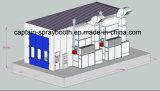 Настройка большой оборудование для нанесения покрытия, покраски и покраска зал