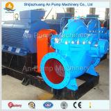 Doppelte Absaugung-Trommel- der Zentrifugeaufgeteilte Kasten-Pumpe 40 m-Kopf-Einleitung-Fluss-elektrische Wasser-Pumpe
