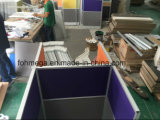 Poste de travail personnalisé de compartiment de centre d'appels à vendre (FOH-K301)
