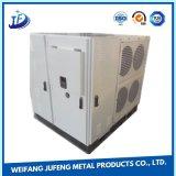 Металлический лист OEM штемпелюя электрический алюминиевый шкаф панели с покрытием порошка