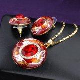 Nuevo elemento de Resina preciosa Bisutería pendientes Collar Conjunto de joyas