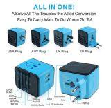 1個のマルチ国家の世界ユニバーサル旅行アダプターUSB旅行充電器力のアダプターのすべて