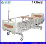 Heißer Verkauf China auf manuelle doppelte Funktions-preiswertem Krankenhaus-Bett