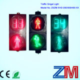 LED 번쩍이는 카운트다운 미터를 가진 공장 가격 보행자 교통량 빛
