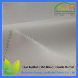 TPU는 백색 가득 차있던 방수 처리한다 100 폴리에스테에 의하여 뜨개질을 한 직물을 박판으로 만들었다
