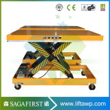 2M Table élévatrice à ciseaux double stationnaire stable