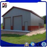 Constructions légères préfabriquées en métal de fournisseur professionnel grandes pour le garage