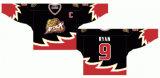 Liga de Hóquei de Ontário personalizados Owen 1982-2009 Ataque som Home/Estrada Hóquei no Gelo Jersey