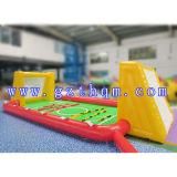Het opblaasbare Hof Foosball van de Spelen van de Sport Grappige Opblaasbare Menselijke/de Opblaasbare Spelen van Sporten