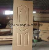 L'intérieur HDF MDF Fournisseur de la peau de porte en placage stratifié