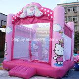 Hello Kitty Salto Inflável Pula
