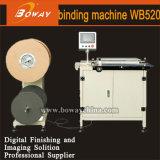 Machine de cahier de livre de fil de l'usine Wb520 de constructeur de la Chine double