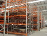 Tormento de la paleta del almacén de almacenaje del metal