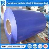 0.036-3mm de haute qualité peinture couleur simple bobines en aluminium pour matériaux de construction