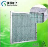 Carton/filtre en aluminium/galvanisé de fibre de verre d'armature