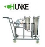 Caja del filtro de bolsa de acero inoxidable para la máquina de Purificación de Agua